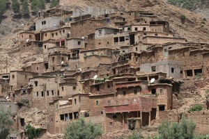 City in the Atlas Mountains